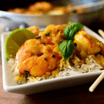 curry de gambas3 150x150 - Buey de mar relleno